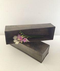 vintage duo of aluminium loaf baking tins by RosyRandom on Etsy, $18.00