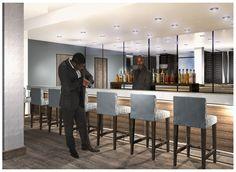 Bar Interior Bar Interior, Aviation, Conference Room, Table, Furniture, Home Decor, Decoration Home, Room Decor, Air Ride