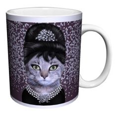 Cat Breakfast Novelty Coffee Mug Cat Cookie Jar, Cookie Jars, Diy Mugs, Cat Mug, Toys For Girls, Prints For Sale, Cocoa, Cat Lovers, Tea Pots