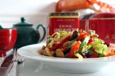 poulet sauté aux légumes 炒鸡丁