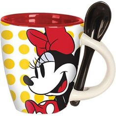Disney Souvenirs, Disney Mugs, Espresso Drinks, Espresso Cups, Cappuccino Cups, Coffee Cups, Mugs Cafe, Red Dinnerware, Bedroom Wall Designs