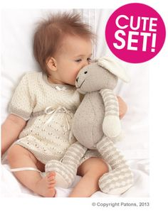 Patons Rabbit and Dress Set | Deramores