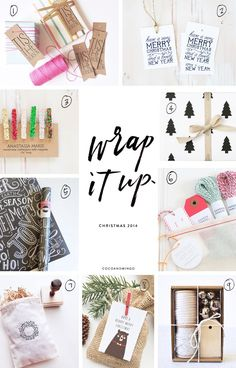 Coco & Mingo: Wrap it up + Free printable gift tags