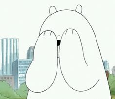 The perfect WeBareBears IceBear Covering Animated GIF for your conversation. Discover and Share the best GIFs on Tenor. Ice Bear We Bare Bears, We Bear, Happy Cartoon, Bear Cartoon, Bear Wallpaper, Wallpaper Iphone Cute, Bear Gif, We Bare Bears Wallpapers, Cartoon Profile Pics