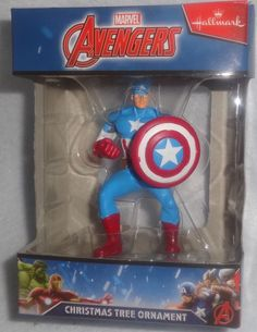 a7600308c02 Marvel Captain America Christmas Ornament by Hallmark Captain American