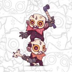 Video game character design collection II on Behance