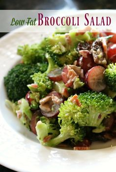 Low Fat Broccoli Sal