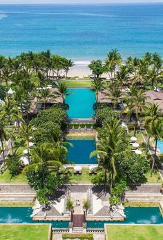 Aerial View with Beach InterContinental Bali Resort vossy.com
