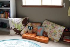 Animal Pillows by daisyspetals