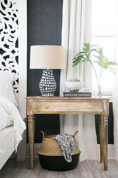 Inside the Bohemian Bedroom of Audrina Patridge via @MyDomaineAU