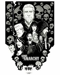 AWESOME Sons Of Anarchy fan art!