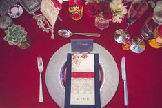Wedding menu ⎪Kusjka du Plessis Photography ⎪ see more on: http://burnettsboards.com/2015/09/russian-wedding-inspiration-nesting-dolls/