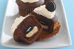 Mini OREO Surprise Cupcakes Recipe - Kraft Recipes