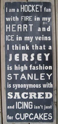 I Am A Hockey Fan Subway Style Word Art from wordwillow on Etsy. Saved to Hockey. Rink Hockey, Hockey Room, Hockey Teams, Hockey Players, Hockey Stuff, Hockey Party, Caps Hockey, Hockey Wedding, Hockey Birthday