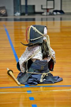 Kendo Girl - this kid looks badass ^_^