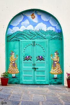 City Palace - Udaipur, Rajasthan, India