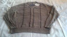 Millennio Linsieme wool Yarns XL men's cashmere sweater made in Italy #Millennio #VNeck