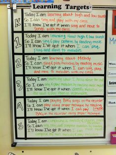 """Lesson objective display. Although the lesson """"I Can"""" statement is presented in a Prezi everyday, this is on constant display throughout the lesson. Additionally, visitors to the classroom can see what we are up to!"""