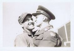 Affectionate men photos from my personal collection. Unless written on the photo I have no information on the subject. Most were purchased a. Vintage Couples, Vintage Men, Gay Couple, Man Photo, Gay Pride, Camera Lens, Vintage Photos, Lgbt, The Past