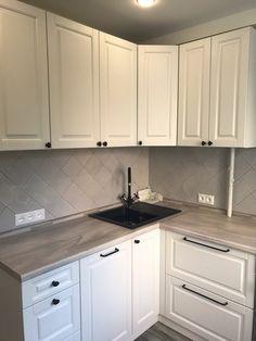 Kitchen Cabinet Remodel, Diy Kitchen Cabinets, Kitchen Cabinet Design, Kitchen Sets, Home Decor Kitchen, Kitchen Interior, Custom Kitchens, Home Kitchens, Studio Kitchen