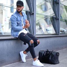 "4,908 mentions J'aime, 145 commentaires - Blogger/Influencer (@massiii_22) sur Instagram : ""Denim Street..."""