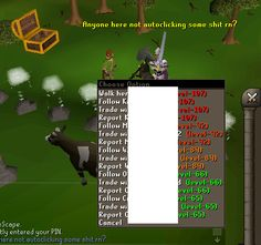 "Is it just me or in every world there's people here ""botting"""