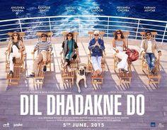Fresh Poster of #DilDhadakneDo featuring #AnushkaSharma, #RanveerSingh, #PriyankaChopra, #FarhanAkhtar #AnilKapoor, #ShefaliShah...