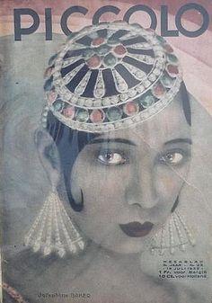 Josephine Baker on vintage magazine cover Josephine Baker, Vintage Glamour, Vintage Beauty, Divas, Paris, Foto Poster, Estilo Pin Up, Vintage Magazines, Mystery