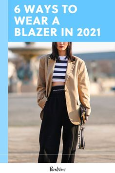Read on to learn which blazer styles are trending right now and how to wear them for maximum chicness (plus one style that just doesn't work for fall 2021). #blazer #fashion #style Blazer Outfits, Blazer Fashion, Fashion Outfits, Fashion Trends, Fashion Tips, Plus Size Looks, Professional Attire, Business Casual Outfits, What To Wear