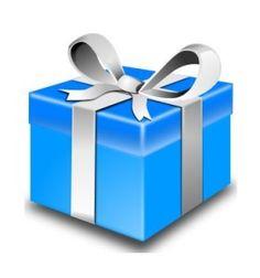 Vector graphics of pink gift box wrapped with silver ribbon. Pink Gift Box, Blue Gift, Pink Gifts, Purple Christmas, Christmas Holidays, Christmas Gifts, Christmas Pranks, Christmas Sale, Holiday Gifts