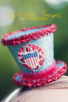 4th july hat...love this!