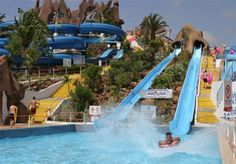 SLIDE & SPLASH in LAGOA is spread out over 16,000 acres. It is considered the largest water park in the Portugal, and one of the largest…and best…in all of Europe.  http://bit.ly/HVMAzt