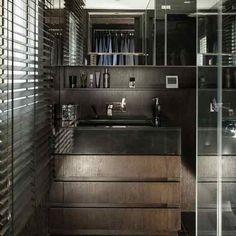 Masculine shower room - Single Man territory