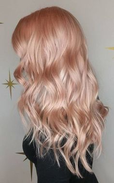 light pink and wavy hair style hair hair hair. Black Bedroom Furniture Sets. Home Design Ideas