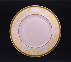 This design of Hillary Clinton's state china service commemorated the 200th anniversary of the White House....White House Entertaining National Museum of American History