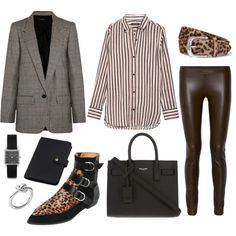 growing up by nadial on Polyvore featuring mode, Isabel Marant, The Row, Yves…