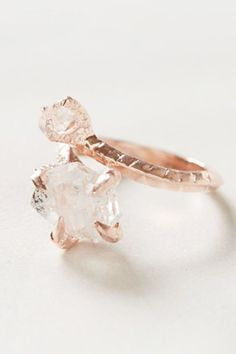 Unique engagement ring- so cool!!!! bjorg nordli mathisen $348 anthro