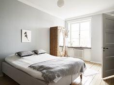 Lundgrensgatan 2   Stadshem Master Bedroom, Bedroom Decor, Minimalist Bedroom, New Room, My Dream Home, New Homes, Interior Design, Roomspiration, Hygge