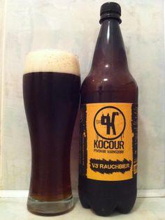 Kocour Varnsdorf / Kocour V3 Rauchbier (smoked beer) ... in plaaastic :D :D :D