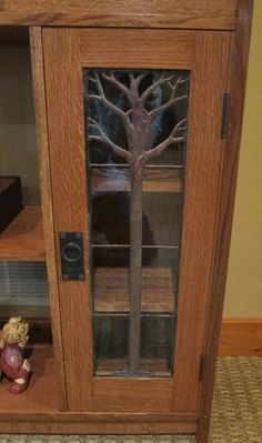 Michael Pekovich inspired Stickley Arts and Crafts Display Case - by revanson11 @ LumberJocks.com ~ woodworking community