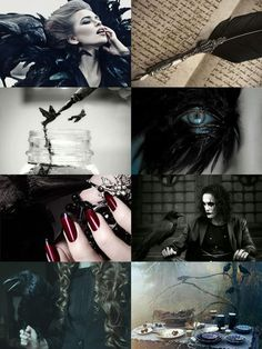 crow witch aesthetic by ajr51594