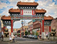 Image detail for -Portland's Chinatown Gate - Photos of My Port Townsend