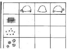 math maternelle tableau double entree