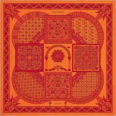Seidentuch 90 Hermès | Ciels Byzantins