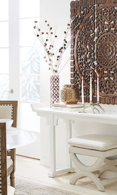 Keep your home looking stunning all winter long with pieces that work beyond the holidays. #winterwhite