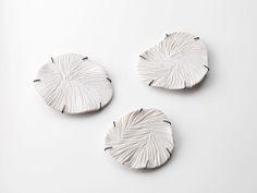 leslie matthews - slowsound timestrange, 2016 – Porcelain, Sterling Silver blackened