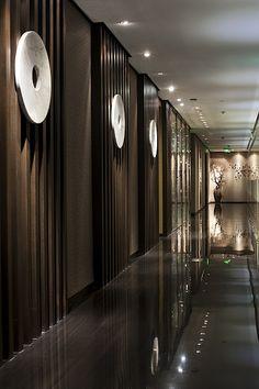Home Decorating Online Games Chinese Interior, Asian Interior, Arch Interior, Interior Architecture, Hotel Hallway, Hotel Corridor, Spa Design, Wall Design, House Design