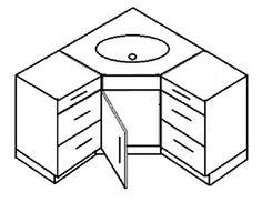 Photo Image corner bathroom vanity space saving bathroom vanity Modular Corner Vanity es in many sizes