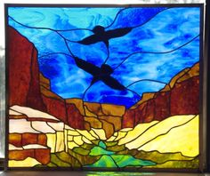 Stained Glass by Christina Norlin. http://www.customstainedglassart.com/