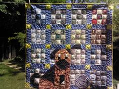 ''There's a Dog on my Quilt'' shared on MyQuiltPlace.com by Riana Noyes